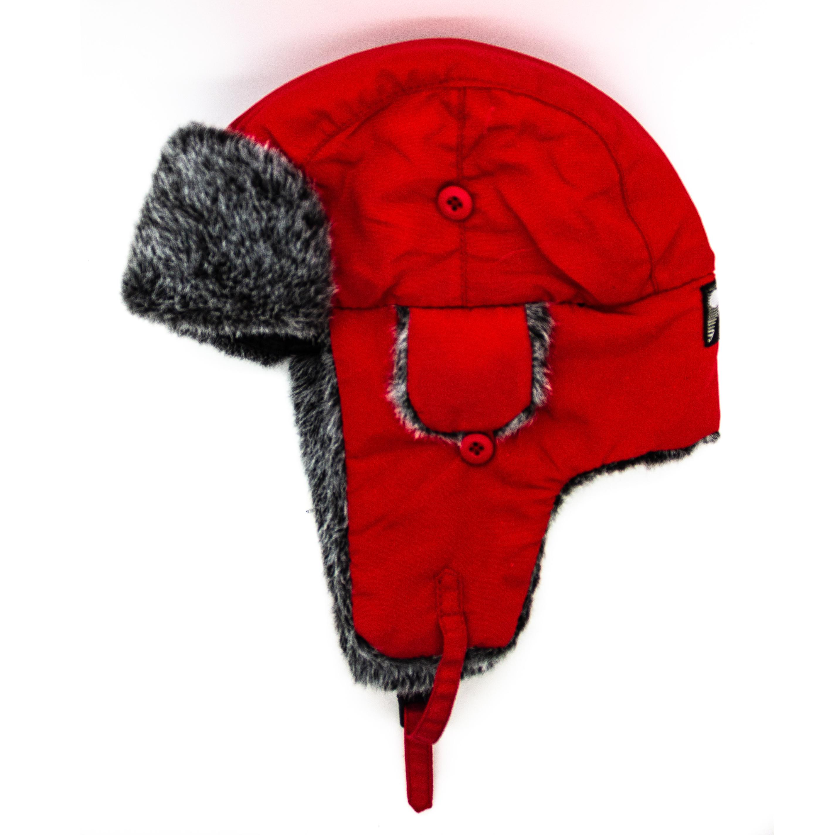 Talvihattu punainen